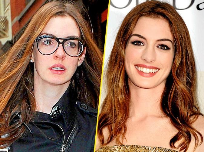 Les stars au naturel : Anne Hathaway !