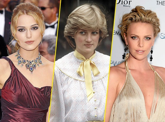 Photos : Keira Knightley ou Charlize Theron dans la peau de Lady Di ?