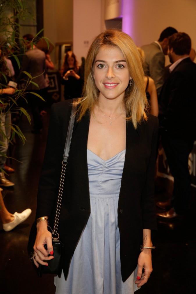 Victoria Monfort à la Aussie Party à Paris, le 4 juin 2014