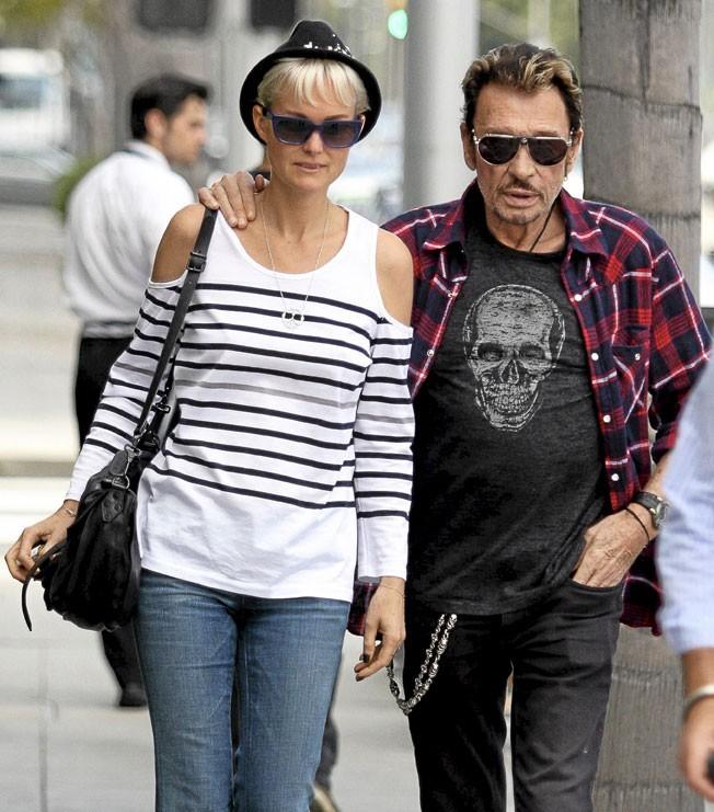 Les couples qui vivent avec : Johnny et Laeticia Hallyday