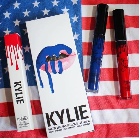 """Kylie Jenner fête le """"Fourth of July"""""""