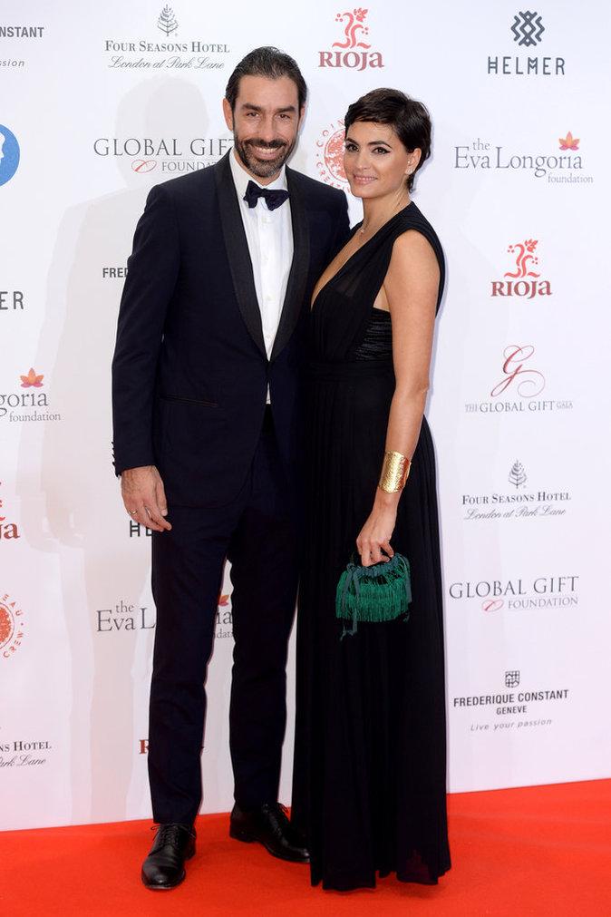 Robert Pires et sa femme
