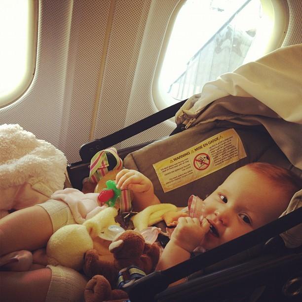 Haven, bébé voyageur