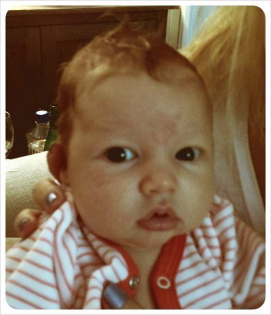 Maxwell, elle ressemble plus à papa ou maman ?