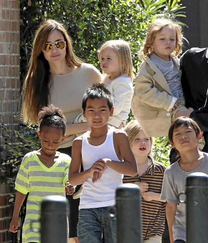 Fête des mères : Angelina Jolie est une maman tribu !
