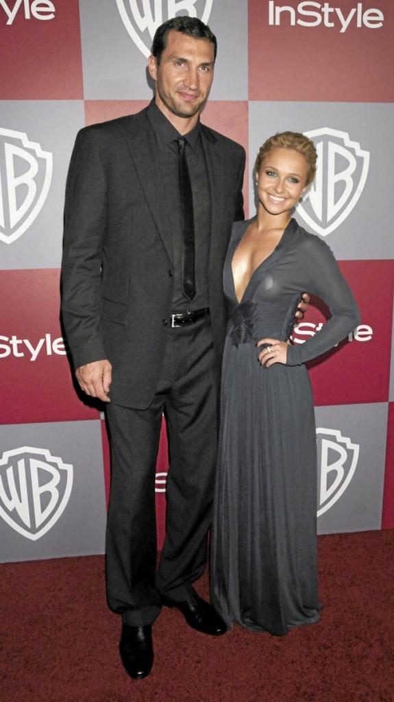 Différences de taille au sein du couple Hayden Panettiere et Wladimir Klitschko : 38 cm