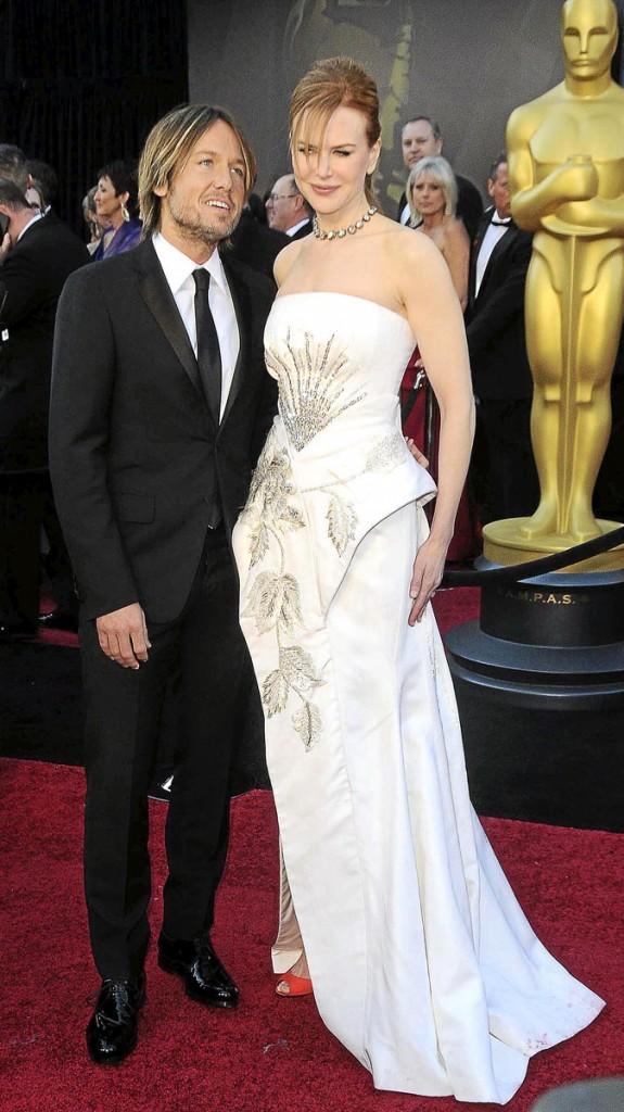 Différences de taille au sein du couple Nicole Kidman et Keith Urban : 8 cm