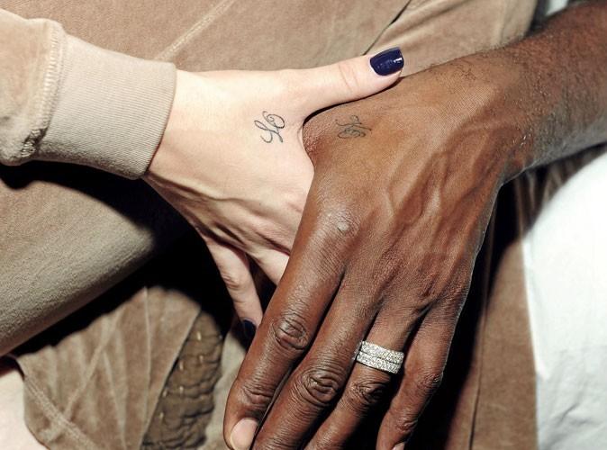 A qui sont ces tatouages d'amour ?