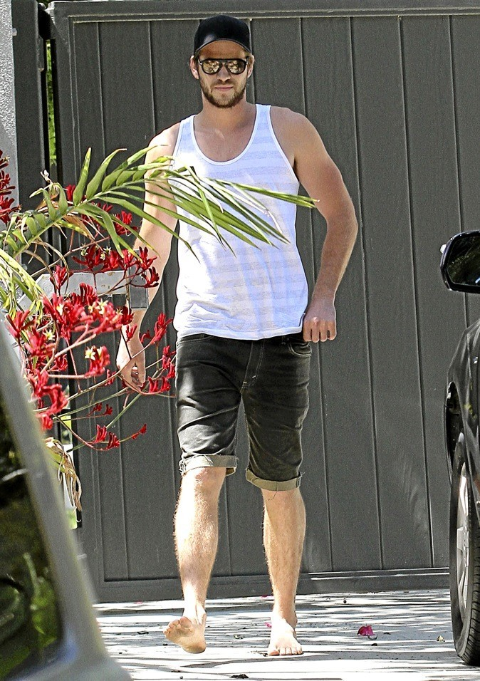 Liam Hemsworth : bac - 2 !