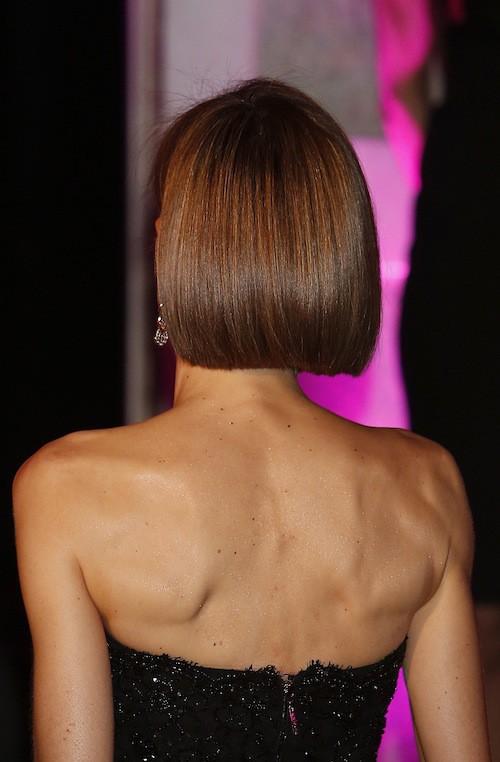 Photos : Letizia d'Espagne : des cheveux longs au carré court, elle s'encanaille !