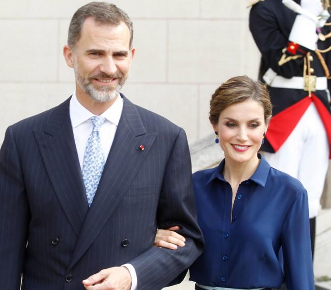Felipe VI et Letizia Ortiz