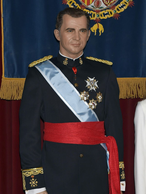 Photos : Letizia d'Espagne : sa statue de cire est ... Felipe Plein