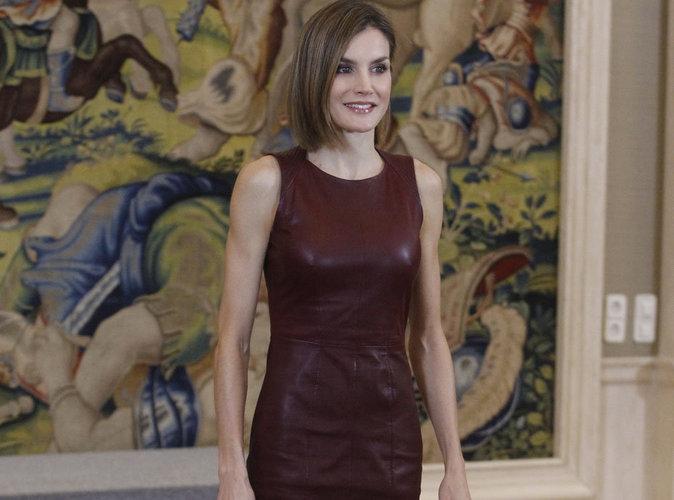 Photos : Letizia d'Espagne, une reine parfaite en cuir !