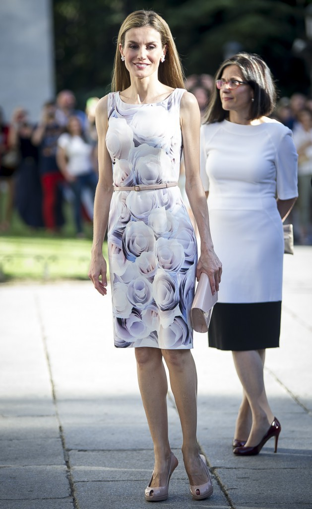 Photos : Letizia : la nouvelle reine d'Espagne ? Une jolie rose sans épines !