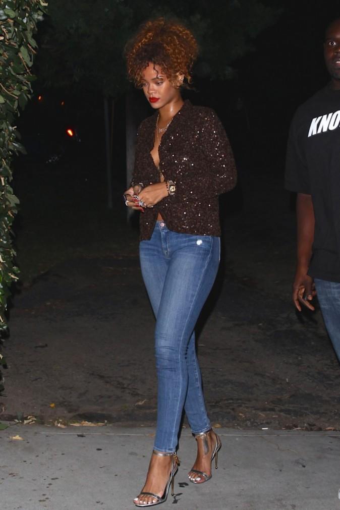 Rihanna le 2 septembre 2015