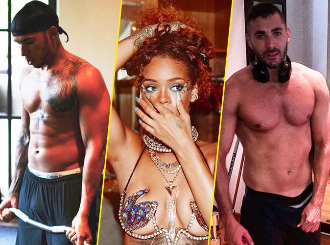Photos : Lewis Hamilton VS Karim Benzema : Rihanna a fait son choix, et vous ?