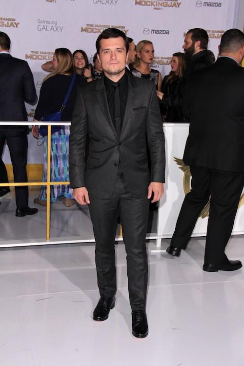 Josh Hutcherson à la première de Hunger Games à Los Angeles, le 17 novembre 2014 !
