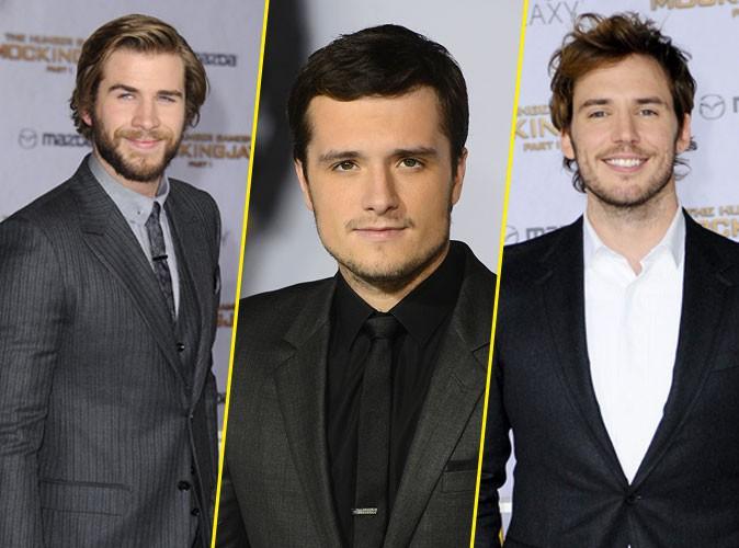 Photos : Liam Hemsworth, Josh Hutcherson, Sam Claflin : hots pour la première de Hunger Games à LA !