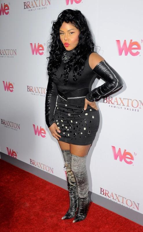 Lil Kim, New York, 14 mars 2013.
