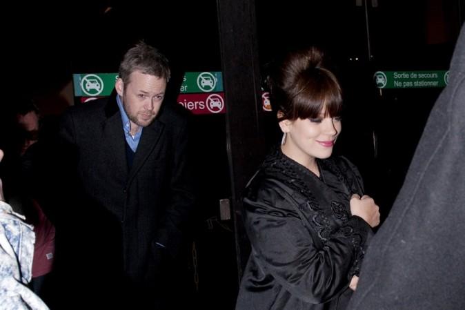 Lily (Allen) Cooper au défilé Etam à Paris le 26 février 2013