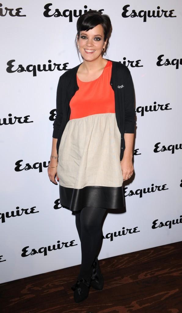 Lily Allen lors de la soirée Esquire à Londres, le 5 mai 2011.