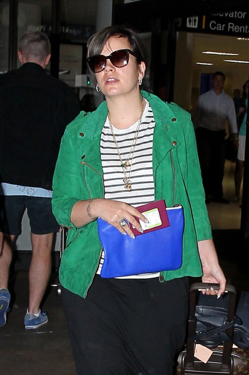 Lily Allen en aout 2013