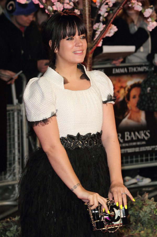 Lily Allen en octobre 2013