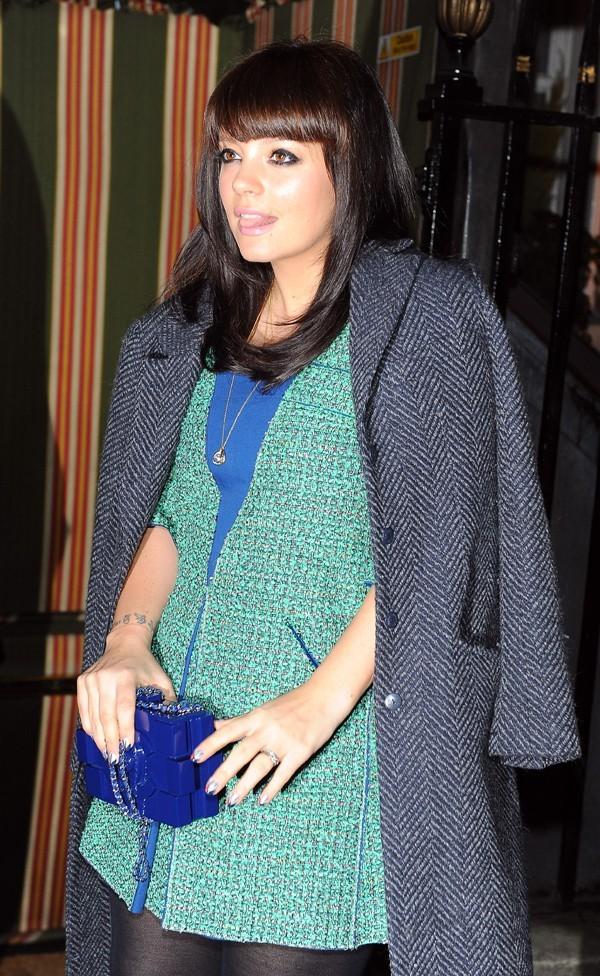 Lily Allen à la soirée pre-BAFTA Chanel à Londres le 9 février 2013