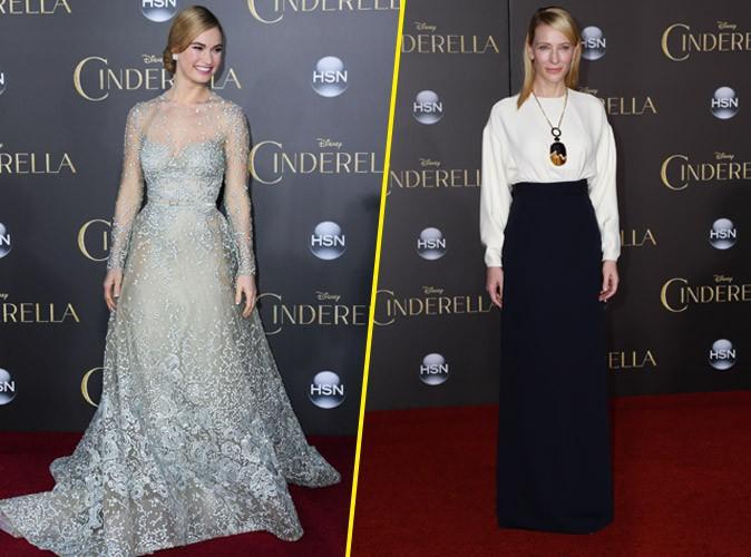 Lily James : Cendrillon féérique face à une Cate Blanchett tout en sobriété !