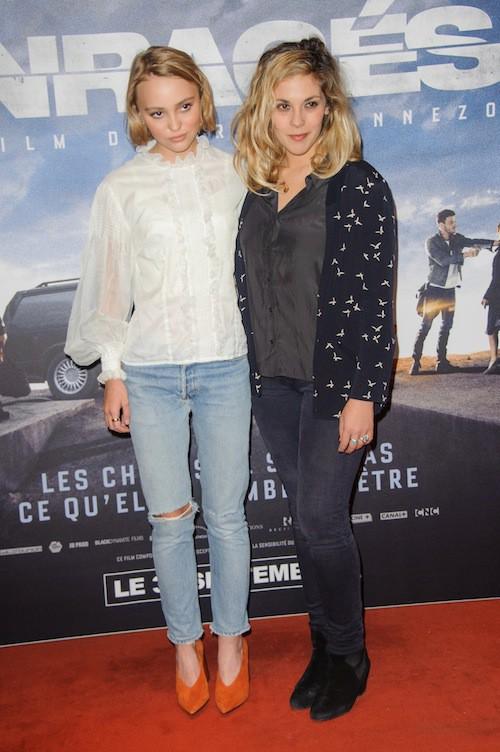 Photos : Lily-Rose Depp et Alysson Paradis maman : un duo nièce-tante complice !