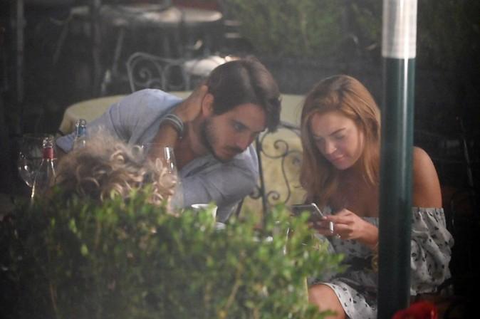 Photos : Lindsay Lohan : adieu la justice et bonjour l'Italie en amoureux !