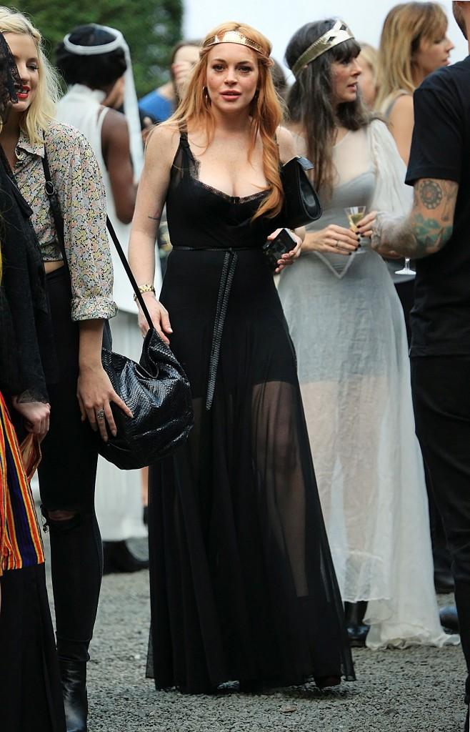 Lindsay Lohan à New York, le 4 septembre 2013