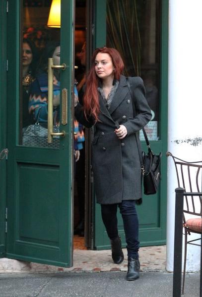 Lindsay Lohan, New York, 3 novembre 2012.