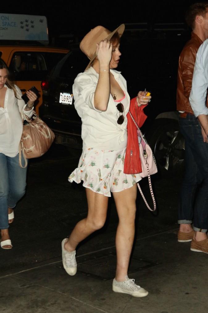 Photos : Lindsay Lohan : elle en a bientôt fini avec la justice !