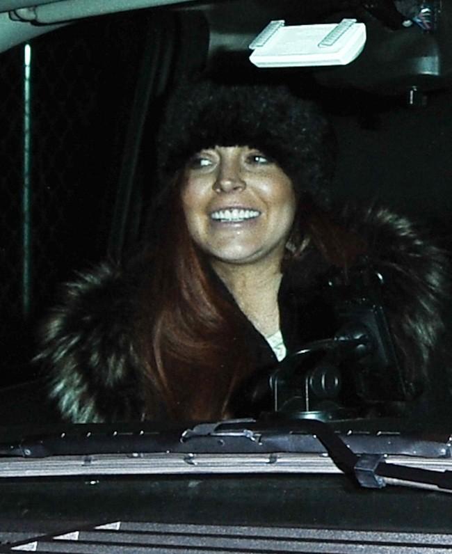 Lindsay Lohan à New-York le 5 novembre 2012