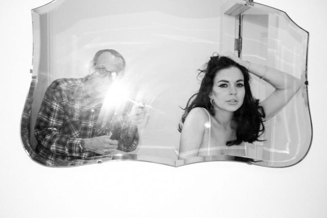 Lindsay Lohan shootée par Terry Richardson au Château Marmont