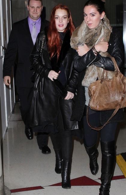 Lindsay Lohan le 19 novembre 2012 à Los Angeles