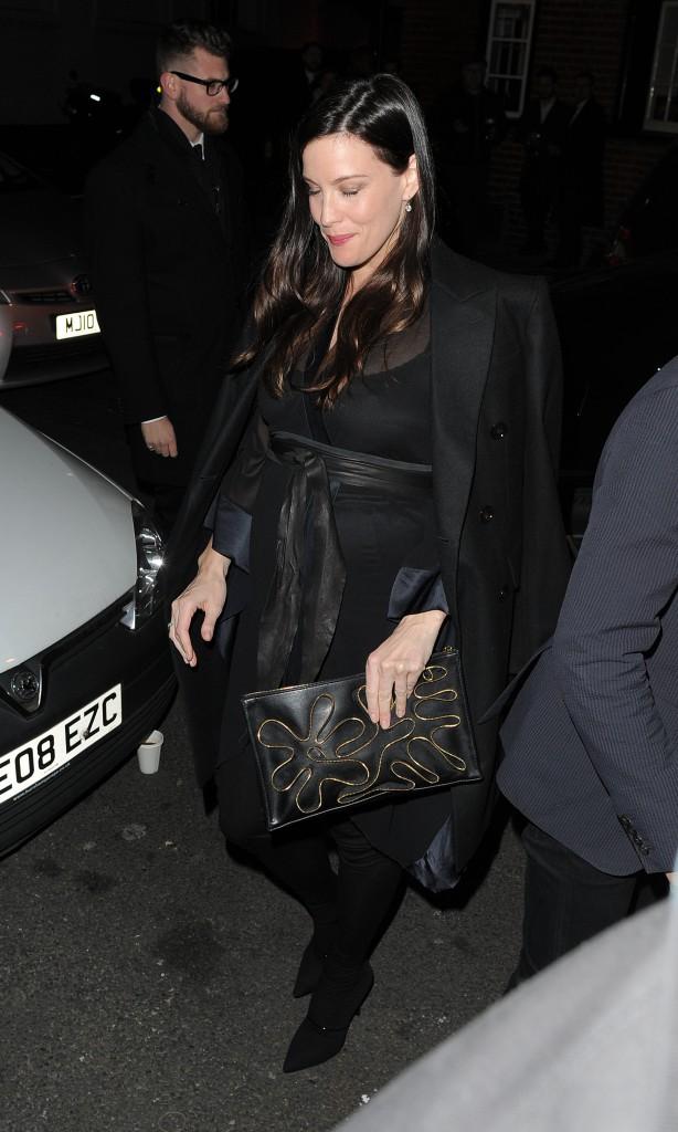 Liv Tyler à Londres le 20 novembre 2014