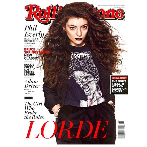 Lorde, une cover-girl de choc !