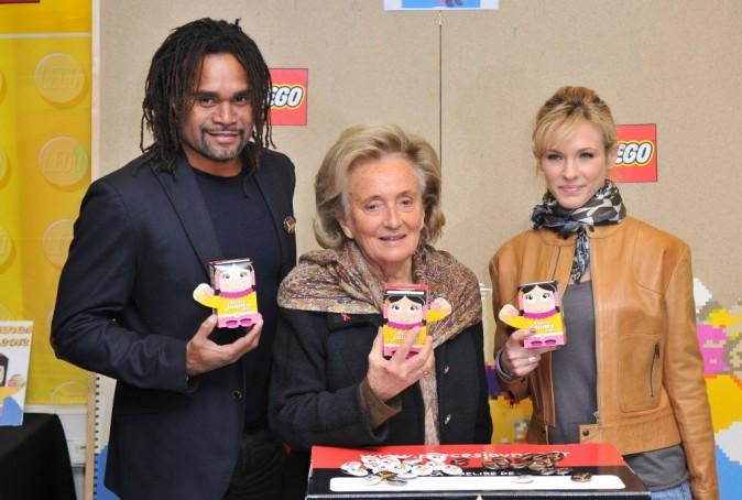 Lorie, Bernadette Chirac et Christian Karembeu !