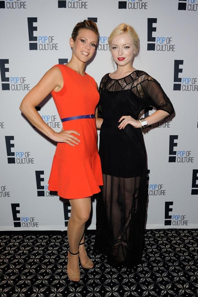 Lorie et Francesca Eastwood le 19 septembre 2012 à Paris