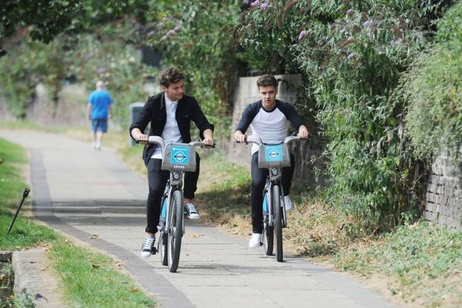 Louis Tomlinson et Liam Payne le 22 août 2012 à Londres