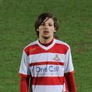 Louis Tomlinson a joué pour la toute première fois pour les Doncaster Rovers le 26 février 2014
