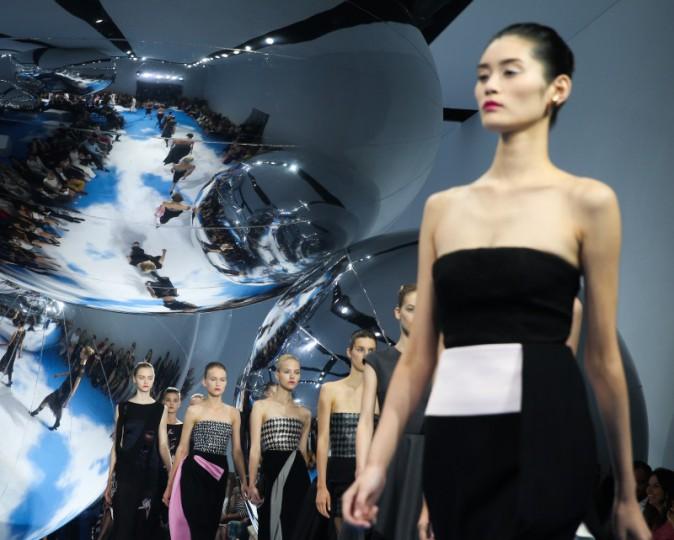 Défilé Haute Couture de la maison Dior à Moscou, le 9 juillet 2013.