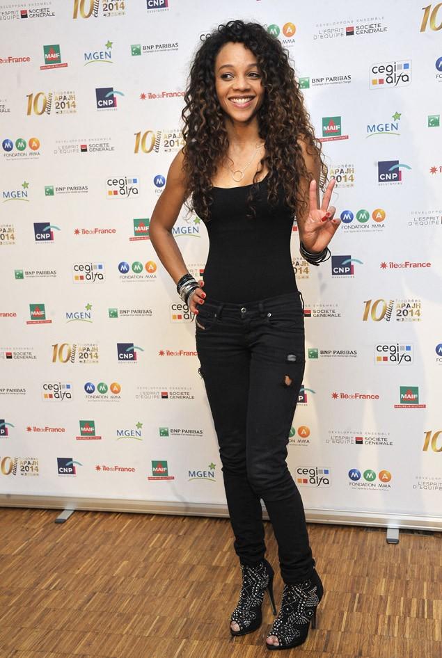 Louisy Joseph à la 10ème édition des Trophées APAJH organisée à Paris le 17 septembre 2014