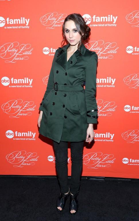Troian Bellisario à la soirée Pretty Little Liars organisée à New-York le 18 mars 2013