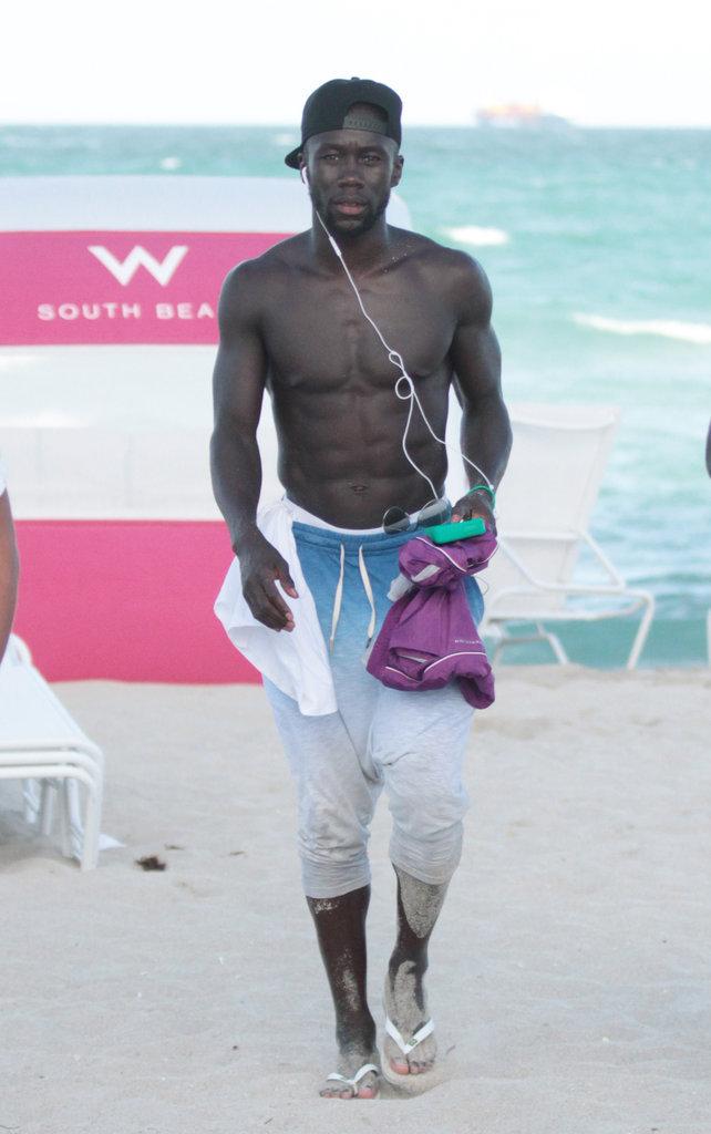 Bacary Sagna à Miami le 18 juillet 2016
