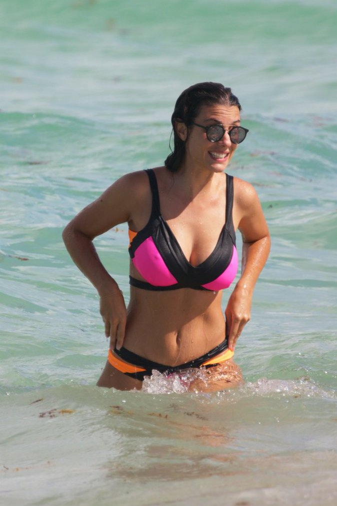 Ludivine Sagna à Miami le 17 juillet 2016