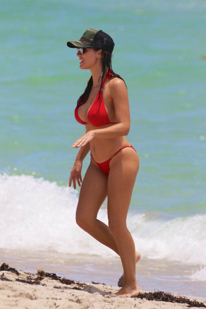 Ludivine Sagna à Miami le 14 juillet 2016