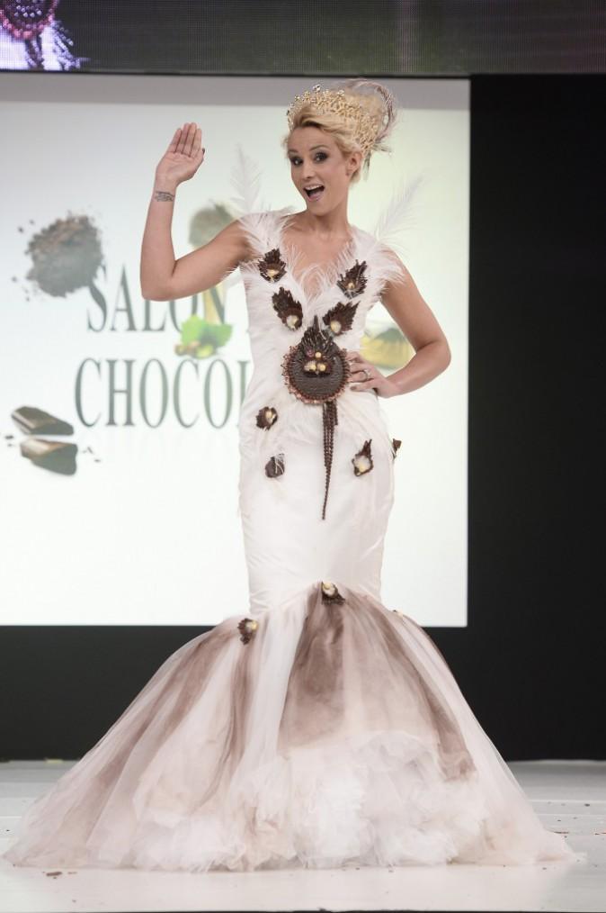 Photos : Ludivine Sagna, Flora Coquerel, Valérie Bègue… Toutes captivantes de beauté au 20ème salon du chocolat !